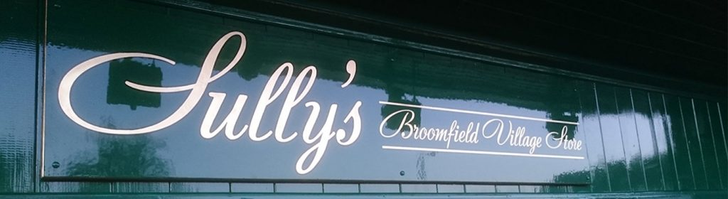 Bespoke Signwriting for Sully